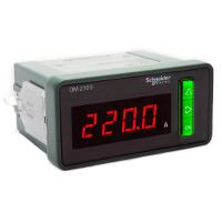 Schneider Electric Digital Ammeter, LED, 1P + N, 50...6000 mA, Current 0...5 A, METSEDM2110