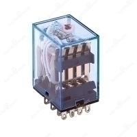 HIMEL PLUG IN RELAY 8PIN 230VAC 5A 2C/O WITH LED HDZ8P052LN1