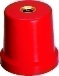 POWERMAT CONICAL INSULATOR M10X60 DMC RED C-1060