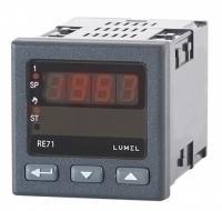 LUMEL Temperature Controller PID, 1 Output, Programmable input  RE70 00E0