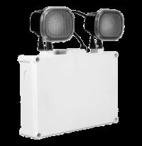 Denko LED Twin Flood Emergency Light Weather Proof IP65 EmDL 205NM WP