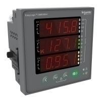 Schneider Electric Digital Panel Meter EasyLogic DM6200H VAF PF DPM NONC CL1.0, METSEDM6000HCL10NC