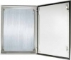 ALFANAR Metal Enclosure 800x800x250 IP66 with mounting and gland plates 47-SB808025D