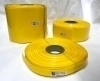 POWERMAT PVC HEAT SHRINKABLE SLEEVE  Thickness 0.17 mm , 17mm YELLOW