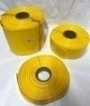 POWERMAT PVC HEAT SHRINKABLE SLEEVE  Thickness 0.17mm , 25mm YELLOW
