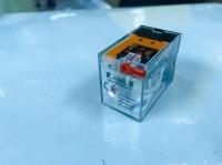 HIMEL PLUG IN RELAY 14PIN 230VAC 5A 4C/O WITH LED ROTARY BUTTON HDZ9054LNR