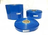 POWERMAT PVC HEAT SHRINKABLE SLEEVE  Thickness 0.17mm , 41mm BLUE