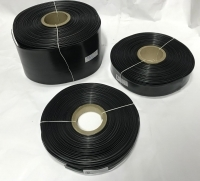POWERMAT PVC HEAT SHRINKABLE SLEEVE, Thickness 0.17mm , 190mm BLACK, PMTHS-100190BLK