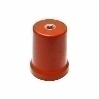 PEX CONICAL INSULATOR 60H, M12, DMC RED MS INSERT, PROC-1260
