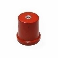 PEX CONICAL INSULATOR 35H, M8, DMC RED MS INSERT, PROC-835