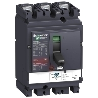 Schneider Electrical Molded Case Circuit Breaker Compact NSX250F - MA - 150 A - 3 poles 3d, LV431749