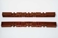 BUSBAR SUPPORT 3P MALE + FEMALE RED COLOR ESW600