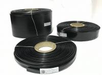 POWERMAT PVC HEAT SHRINKABLE SLEEVE, Thickness 0.17mm , 85mm BLACK, PMTHS-10085BLK