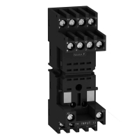 Schneider Electric Relay Socket RXZ - mixed contact - 10A - < 250V - connector - for relay RXM2.., R